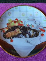 Cat Nap collector plate in Macon, Georgia