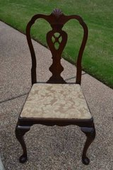 Vintage Mahogany Chippendale Dining Chair in Bartlett, Illinois