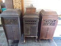 Record Players*Four*1910s*Working*30+ 1900s record in Fort Leonard Wood, Missouri