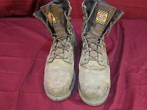 justin mens lace-up waterproof met-guard work boots wk630 size 11.5 wc 12251 in Huntington Beach, California