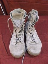 nike tan military field boots leather breathable women's size 8 sfb great! 5293 in Huntington Beach, California