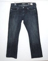 !iT Los Angeles It GEM Denim Jeans Womens sz 30 Measures 31 x 29 Low Staright in Morris, Illinois