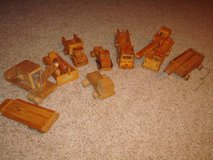 Vintage Authentic Large Hand Crafted Wooden Toy Lot Rare Find L@@K!! in Brookfield, Wisconsin