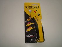 Stanley Tools InstantFeed Utility Knife Brand New Soft Grip Handle!! in Brookfield, Wisconsin