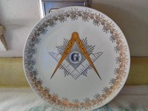 Masonic plate in Fort Knox, Kentucky