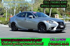 2014 Lexus IS 250 Base Ask for Louis (760) 802-8348 in Camp Pendleton, California