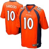 denver broncos emmanuel sanders 10 licensed jersey nike on field youth sizes new in Huntington Beach, California