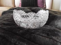American cut glass crystal boat bowl in Las Cruces, New Mexico