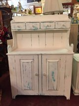 White Primitive Hutch in Temecula, California