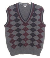 Lord & Taylor 100% Pure New Wool Argyle Sweater Vest Mens XL in Joliet, Illinois