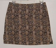 Tracy Evans Leopard Mini Skirt Womens sz 7 Juniors Jrs in Morris, Illinois