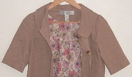 Urban Behavior Khaki Cropped Shirt Jacket Womens Size Small S in Plainfield, Illinois