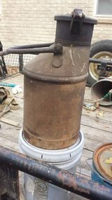 Antique Large Metal Fuel Can in Houston, Texas