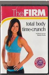 Brand New ~ ONLY $1 The Firm Total Body Time-Crunch DVD with Rebekah Sturkie in Morris, Illinois