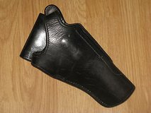 Bianchi #350 Hurricane Black Leather Duty Holster .38/.357 Right Hand in Camp Pendleton, California