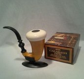 Vintage Avon 1974 Calabash Pipe & Stand In Original Sherlock Holmes Box in Chicago, Illinois
