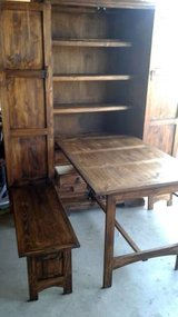 Hide-Away Kitchen Table & Benches in Conroe, Texas