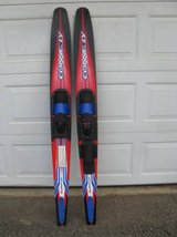 """Connelly 68"""" Quantum Combo Water Skis w/Slide-Adjustable Bindings in Vista, California"""