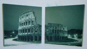 Colosseum Construction 2 Piece Photographic Print on Canvas Set in Tomball, Texas