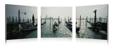 Gondolas 3 Piece Photographic Print on Canvas Set in Tomball, Texas