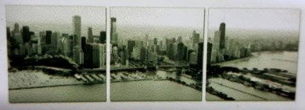 New York Skyline 3 Piece Photographic Print on Canvas Set in Kingwood, Texas