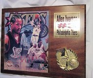 nba 2001 mvp allen iverson coa signed photo autographed 76ers #3 limited print in Kingwood, Texas
