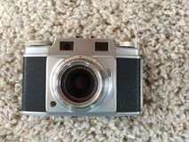 vintage camera ansco super memar 35mm camera w/ leather case germany in Tinley Park, Illinois