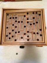 Vintage Toy large wooden wood labyrinth marble ball maze board game in Tinley Park, Illinois
