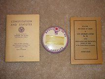 vintage elks b.p.o.e. books, id badge, id card wallet & 35 year pin - l.a. calif in Yucca Valley, California
