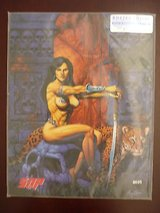 amazon empire volume one a gallery  girls coll-art autograph/serial # 178/1000 in Yucca Valley, California