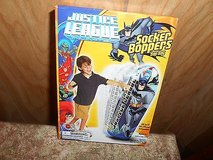 "BATMAN JUSTICE LEAGUE UNLIMITED: SOCKER BOPPERS BOP BAG 36"" INFLATABLE- Water Base ! New and MIN... in Houston, Texas"