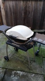 Weber portable grill. Propane. No tank... paid $240 new... in Fairfield, California