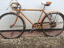 Antique Schwinn Copper/Gold bike in Shorewood, Illinois