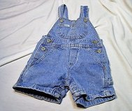 lee 18 month overalls shorts snaps denim blue jean spring summer in Kingwood, Texas