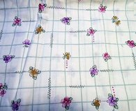 "purple lavender pink rose flower floral 44"" sew 2yds  cotton blend fabric quilt in Kingwood, Texas"
