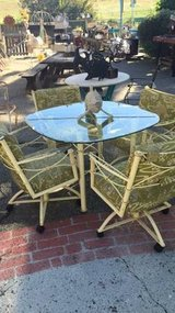 5 Piece Patio Dining Table & Chairs in Temecula, California