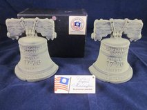 VIRGINIA METALCRAFTERS 1776 1976 Bicentennial (2) Cast Iron Bookends in Naperville, Illinois