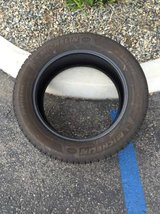 1 Michelin Latitude Tour 245/55/19 tire in Camp Pendleton, California