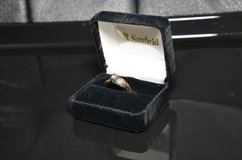 14 KT Gold 2 Tone Ring - Wedding Set in Lockport, Illinois