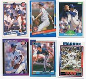 Chicago Cubs Hall of Famer Greg Maddux Lot in Chicago, Illinois