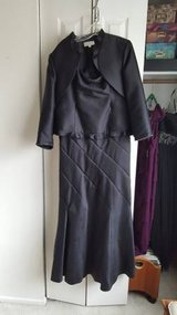 Junnie Leigh Black Mother of the Bride Dress Size 16 in Bartlett, Illinois
