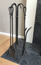 PRICE DROP Crate & Barrel Fireplace Tools in Naperville, Illinois