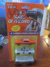 The Dukes of Hazzard 1997 Ertll  diecast 3 vehicle set with 3 2005 cast autographs in Perry, Georgia
