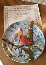 Plate - Cardinal - Certificate of Authenticity in Aurora, Illinois