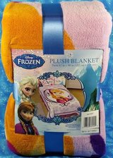 "Disney Frozen Twin Bed Anna Plush Throw Blanket 62"" X 90"" NEW in Glendale Heights, Illinois"