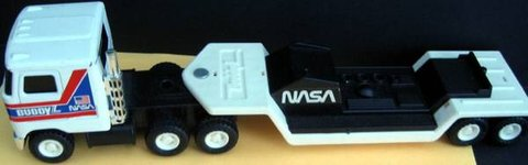 Vintage Buddy L NASA Mack Semi Truck Carrier Hauler Toy Shuttle in Lockport, Illinois