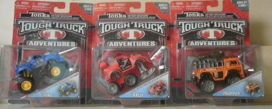 TONKA Tough Truck Adventures RALLY FINS TRAPPER New NIP Die Cast Truck in Westmont, Illinois