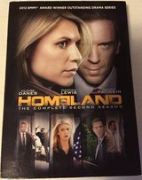 Homeland DVD Complete Season 2 2nd 4Disc Set Claire Danes Damian Lewis in Glendale Heights, Illinois