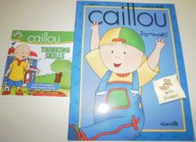 New Caillou Thinking Skills PC Game Dominoes Workbook Activity Book toy in Bolingbrook, Illinois