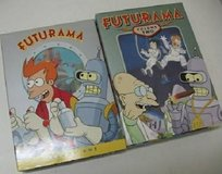 New Futurama DVD TV Series Volume 1 and Volume 2, 7 disc set in Glendale Heights, Illinois